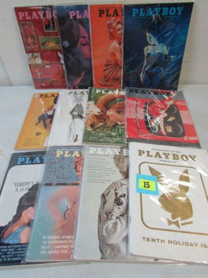 Playboy Magazine (1963) Full Year All 12 Issues (vol. 10)