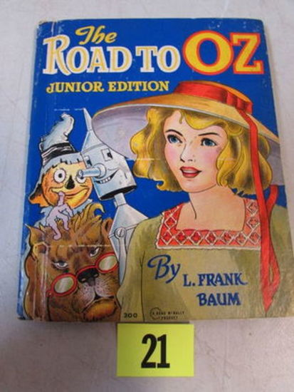 The Road To Oz (1937) Frank Baum/ Junior Edition