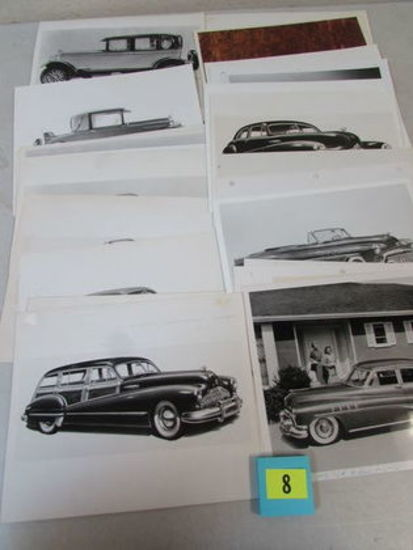 Lot (22) Vintage Buick 8x10 Photos For Advertising/ Promotion