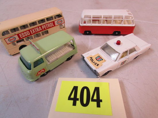 Lot (4) 1960's Matchbox Lesney Diecast Cars