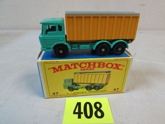 Vintage 1960's Matchbox Lesney No. 47 D.A.F. Tipper Truck Mib