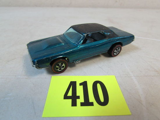 Vintage 1967 Hot Wheels Redline Custom T-bird Aqua