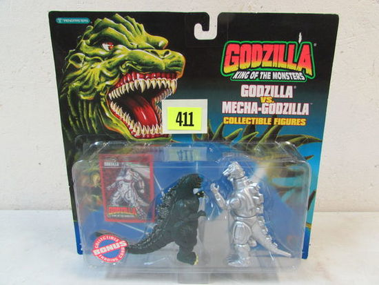 Vintage 1994 Trendmasters Godzilla Vs. Mecha Godzilla King Of The Monsters