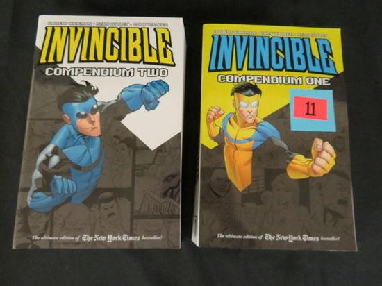 Invincible (image Comics/ Robert Kirkman) Compendium Vol 1 & 2