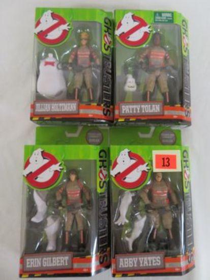 "Mattel 6"" Ghostbusters Set (4) Figures Misp"