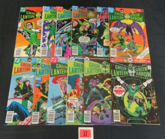 Green Lantern Bronze Age Run #90-101 Complete