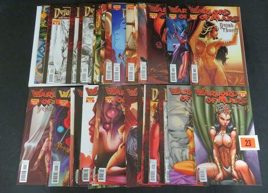 Huge Lot (40) Dynamite Comics Dehah Thoris/ Warlord Of Mars Comics W/ Variants