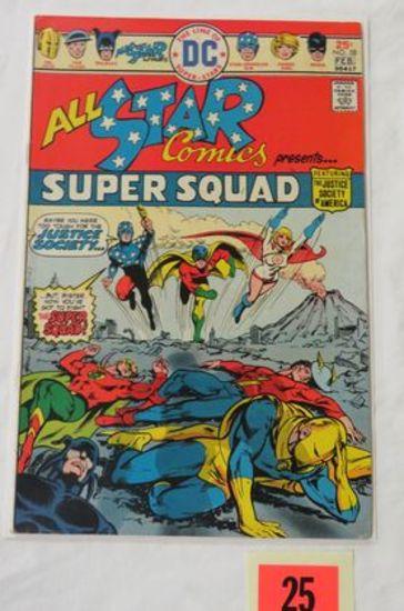 All-star Comics #58 (1976) Key 1st Appearance Power Girl