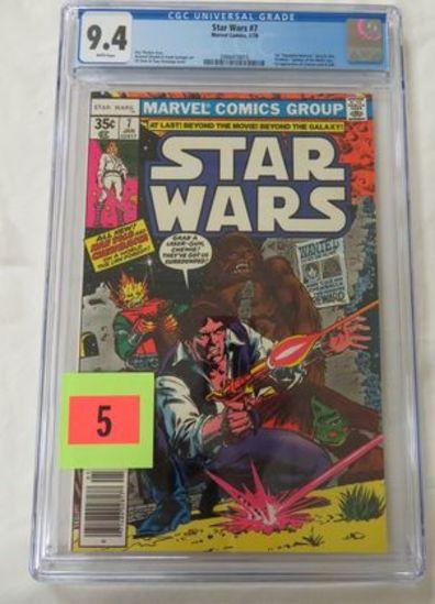 Star Wars #7 (1978) Bronze Age Marvel/ 1st Print Cgc 9.4