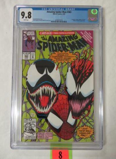 Amazing Spider-man #363 (1992) Classic Venom/ Carnage Cover Cgc 9.8