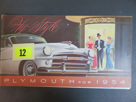 1954 Plymouth Auto Brochure
