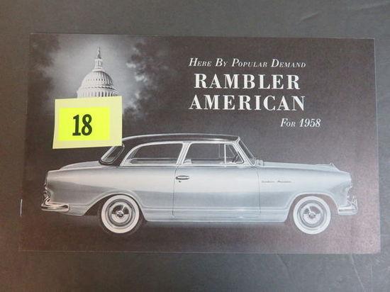 1958 Rambler Auto Brochure