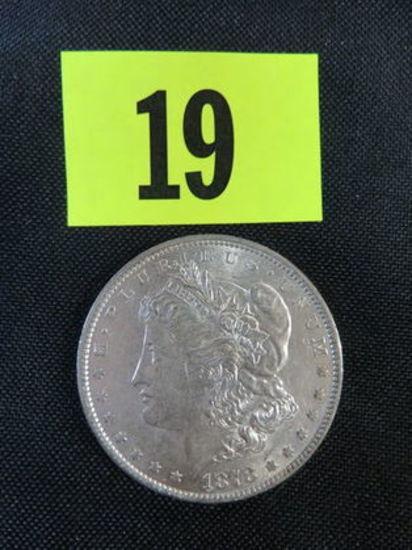 1878 7 TF Morgan Silver Dollar
