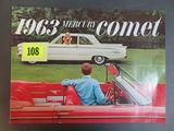 1963 Mercury Comet Auto Brochure