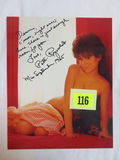 Playmate Patti Reynolds Signed Photo