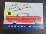 1955 Chevrolet Auto Brochure/Poster