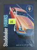 1957 Studebaker Hawks Auto Brochure