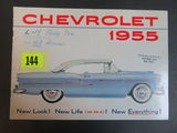 1955 Chevrolet Auto Brochure