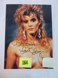 Ginger Lynn/Adult Star Signed Photo