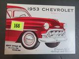 1953 Chevrolet Auto Brochure