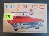 1961 Oldsmobile Auto Brochure/Poster