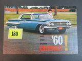 1960 Chevrolet Auto Brochure