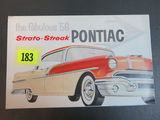 1956 Pontiac Strato-Streak Brochure