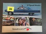 1967 Plymouth Belvedere Brochure