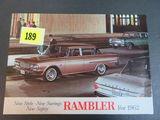 1962 Rambler Auto Brochure