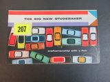 1950's Studebaker Auto Brochure/Poster