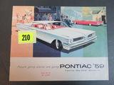1959 Pontiac Auto Brochure