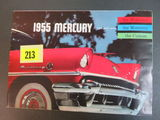 1955 Mercury Auto Brochure/Poster
