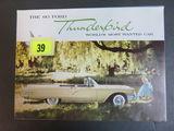 1960 Ford Thunderbird Brochure/Poster