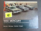 1968 Ford Mercury Auto Brochure