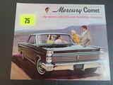 1965 Mercury Comet Auto Brochure