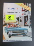 1960 Oldsmobile F-85 Brochure