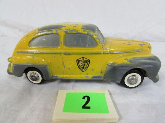 Antique Master Caster Yellow Taxi Cab Promo Car