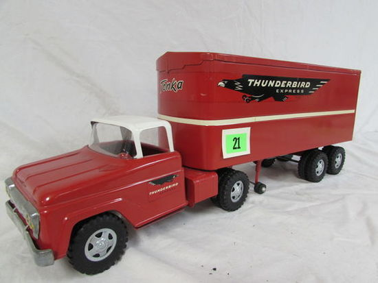 """1950's Tonka 24"""" Thunderbird Express Truck"""