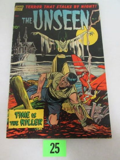 The Unseen #7 (1952) Golden Age Pre-code Horror