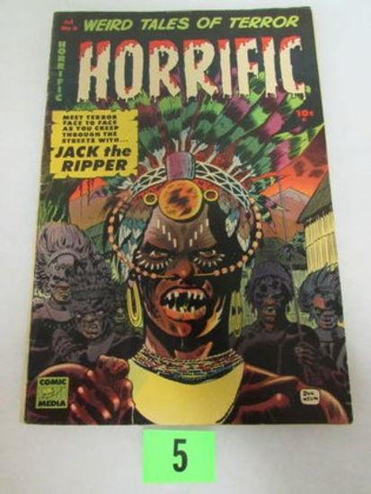 Horrific Comics #6 (1953) Golden Age Pre-code Horror