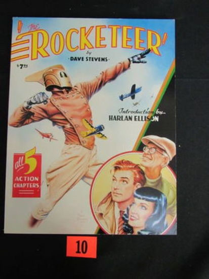 Rocketeer (1985) Graphic Novel/1st Print