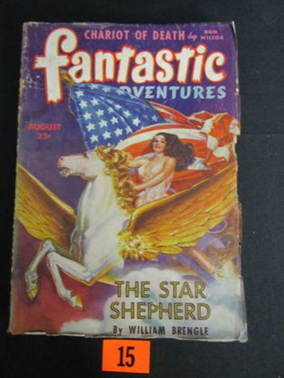 Fantastic Adventures Pulp Aug. 1943