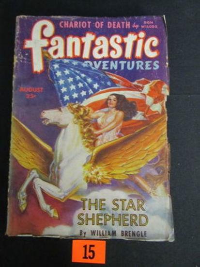 Fantastic Adventures Pulp Aug. 1943