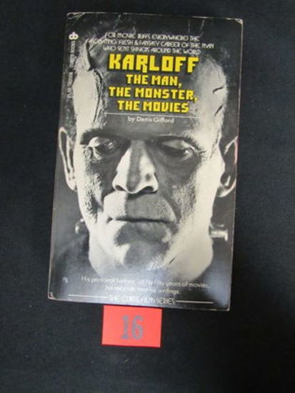 Karloff The Man/monster/movies Pbk.