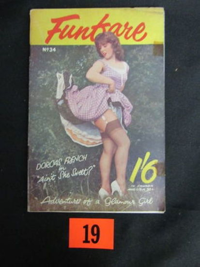 Funfare Mag. #34/british Pin-up/1950's