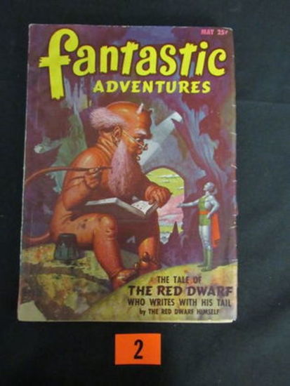 Fantastic Adventures Pulp May 1947