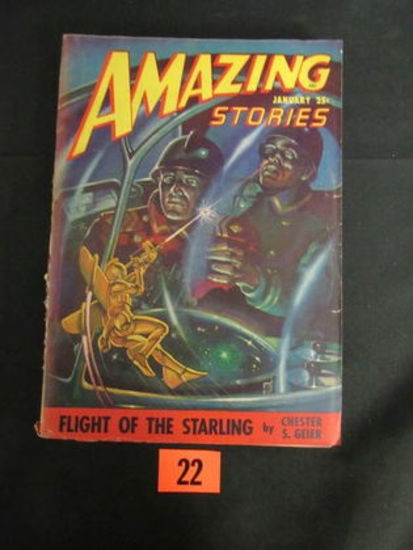 Amazing Stories Pulp Jan. 1948