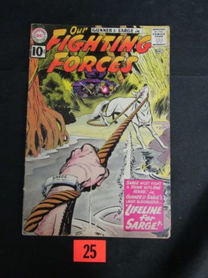 Our Fighting Forces #64/1961/dc War