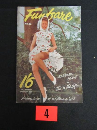 Funfare Mag. #32/british Pin-up/1950's