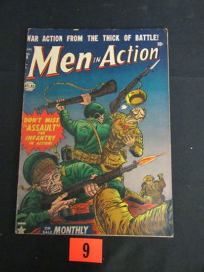 Men In Action #6/1958 Marvel/atlas